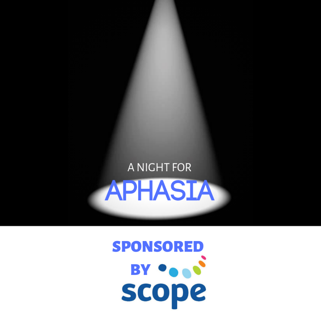 A Night for Aphasia logo